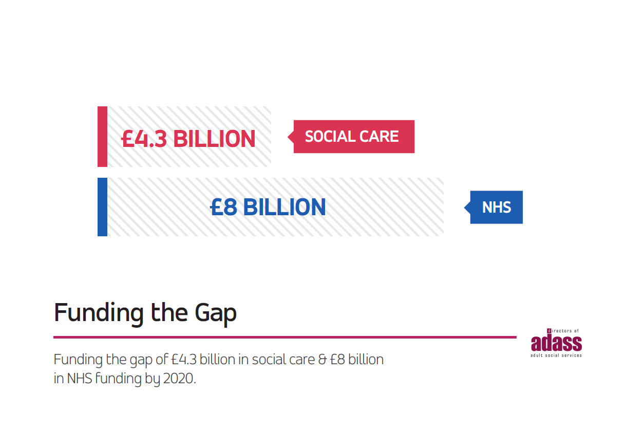 funding the gap - adass infographic