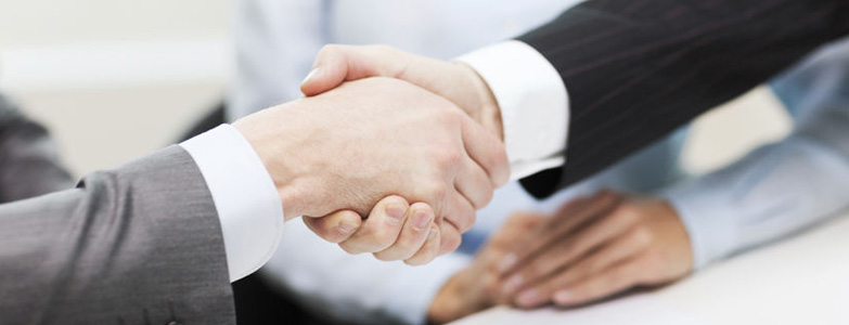 business handshake image