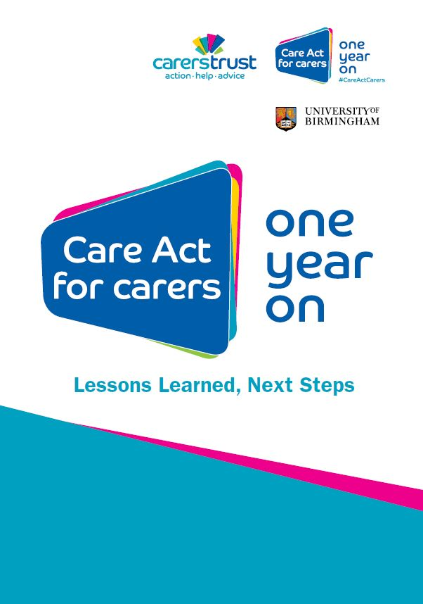 Care Act for Carers - One Year On