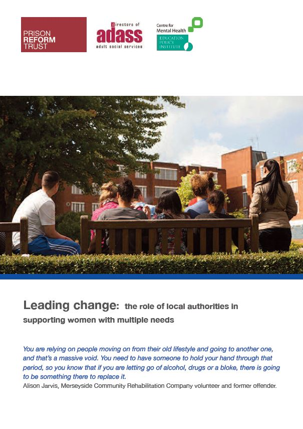 Leading Change - the role of local authorities in supporting women with multiple needs