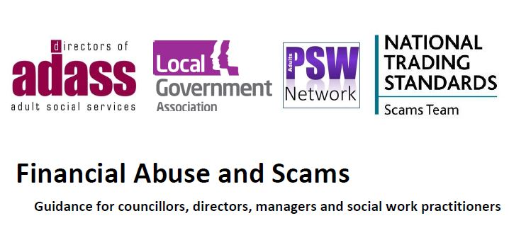 Top Tips - Financial Abuse and Scams