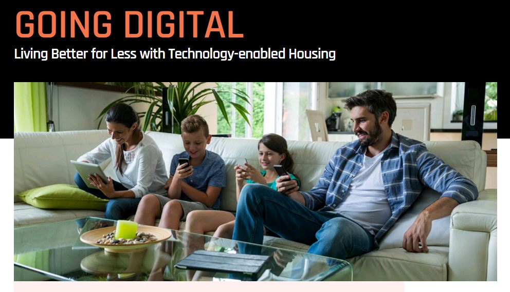 Going Digital - Living Better for Less with Technology-enabled Housing