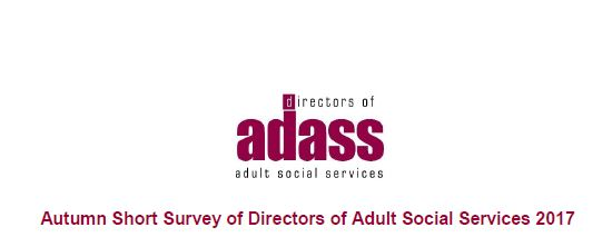 Autumn Short Survey of Directors of Adult Social Services 2017